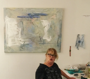 Mahoney chats about art