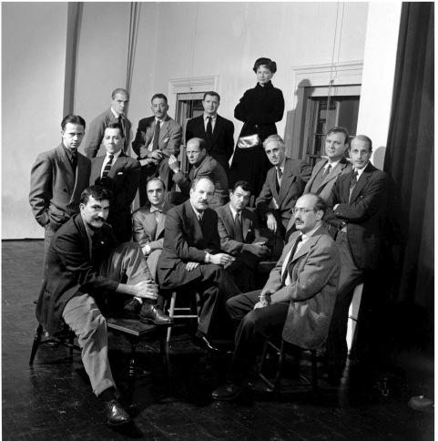 Willem De Kooning;Jackson Pollock;Adolph Gottlieb;Ad Reinhardt;Robert Motherwell;Clyfford Still;James C. Brooks;Hedda Sterne;Jimmy Ernst;Bradley Walker Tomlin;Richard Pousette-Dart;Barnett Newman;Theodoros Stamos;William Baziotes;Ma Rothko